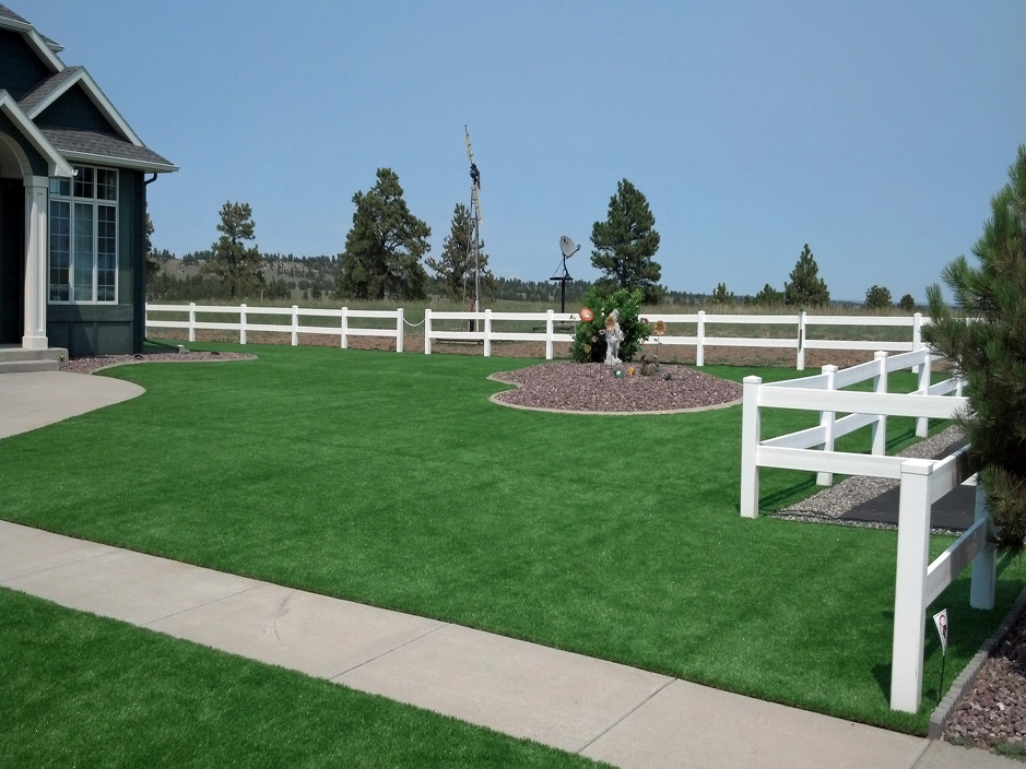 Artificial Grass Carpet Rock Island, Oklahoma Paver Patio, Backyard Ideas