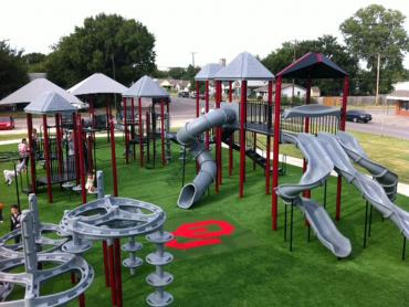 Artificial Grass Photos: Artificial Grass Cordell, Oklahoma Kids Indoor Playground, Recreational Areas