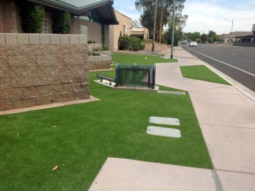 Artificial Grass Photos: Artificial Turf Haworth, Oklahoma Landscaping, Small Front Yard Landscaping