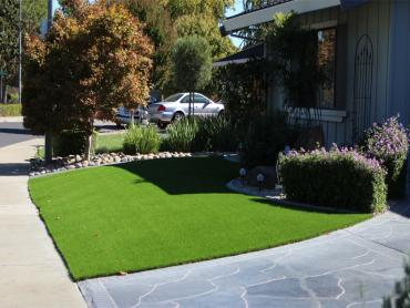 Artificial Grass Photos: Fake Lawn Silo, Oklahoma Home And Garden, Front Yard Landscaping