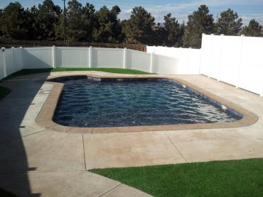Artificial Grass Photos: Faux Grass Blair, Oklahoma Roof Top, Natural Swimming Pools