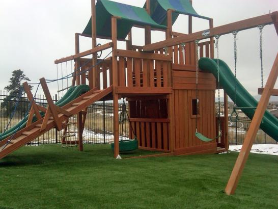 Artificial Grass Photos: Grass Carpet Gideon, Oklahoma Backyard Playground