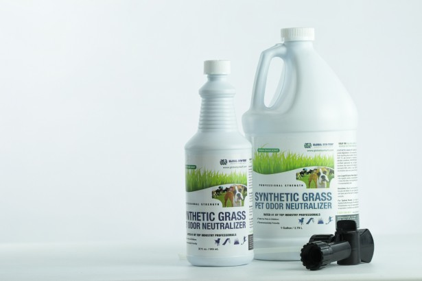 Pet Odor Neutralizer installgrass