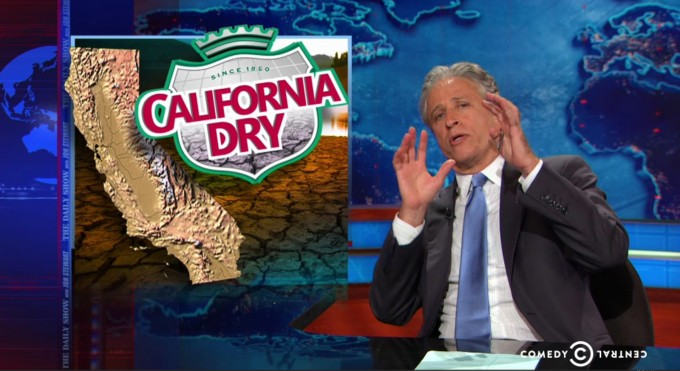 Jon Stewart References California as a Jurassic World But This Time... BOOM! Everything Went Horribly Wrong. artificial grass
