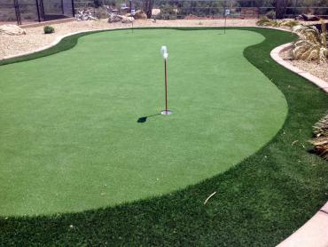 Artificial Grass Photos: Turf Grass Optima, Oklahoma Putting Green, Backyard Landscape Ideas