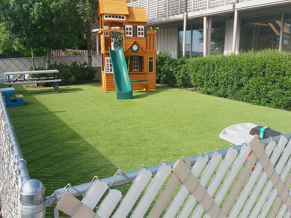 synthetic grass cost ada oklahoma gardeners backyard designs - Synthetic Grass Cost