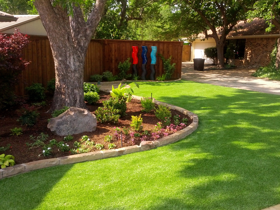 Synthetic Grass Dewar, Oklahoma Landscape Design, Backyard Landscaping Ideas
